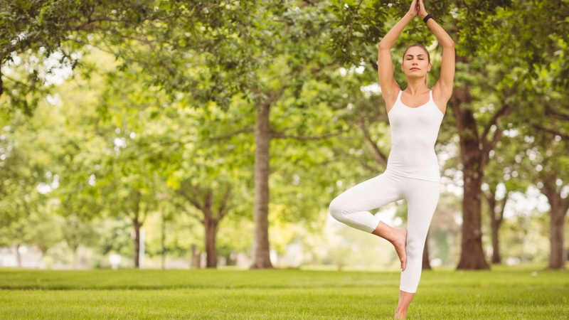 Позы йоги стоя на баланс. От Врикшасана до Ардха Чандрасана