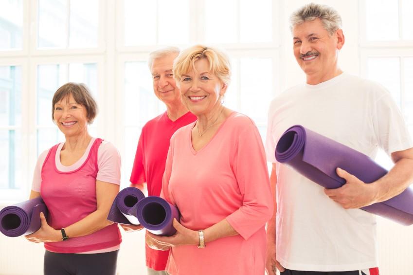 Йога в жизни пожилого человека