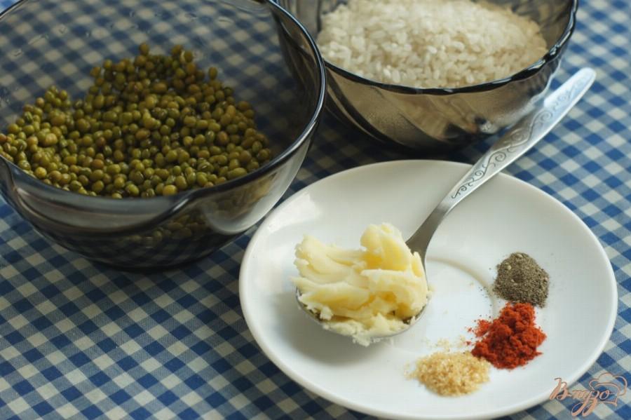 Основные компоненты, из которых готовят кичари