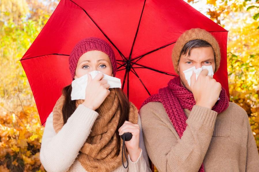 Простуда в холодное время года
