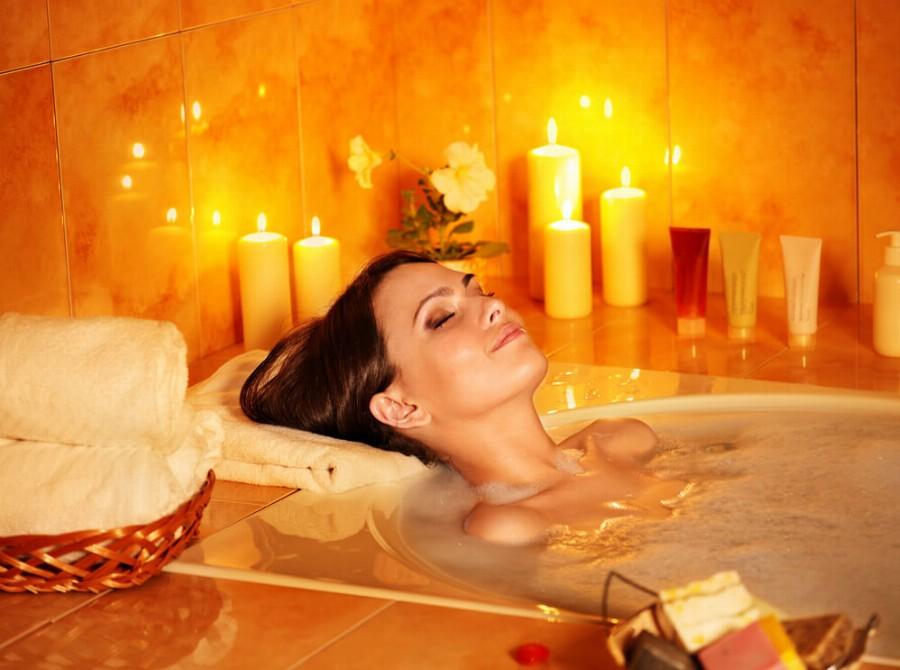 Вечерняя ванна
